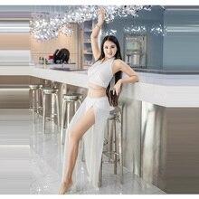 Nowy kostium taneczny brzucha damski zmysł bogini orientalny taniec popularna piosenka strój treningowy damski brzuch kostium taneczny kostium