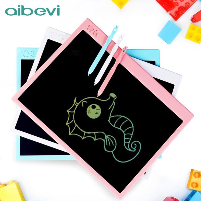 Aibevi 16 بوصة قابلة للشحن لوح رسم شاشة إل سي دي ملونة تابلت للكتابة أقراص رقمية ذكية لرجال الأعمال لوح رسم للأطفال