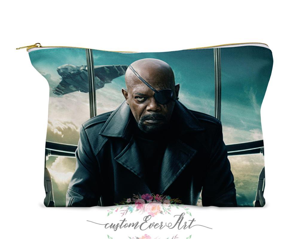 Bolso cosmético de la Fury de Nick estuche cosmético bolsa de maquillaje bolsa de viaje Linda para regalo de las mujeres