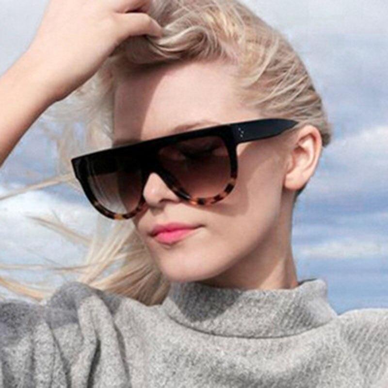 Женские Овальные Солнцезащитные очки TOYEARN, брендовые дизайнерские Винтажные Солнцезащитные очки с заклепками в оправе