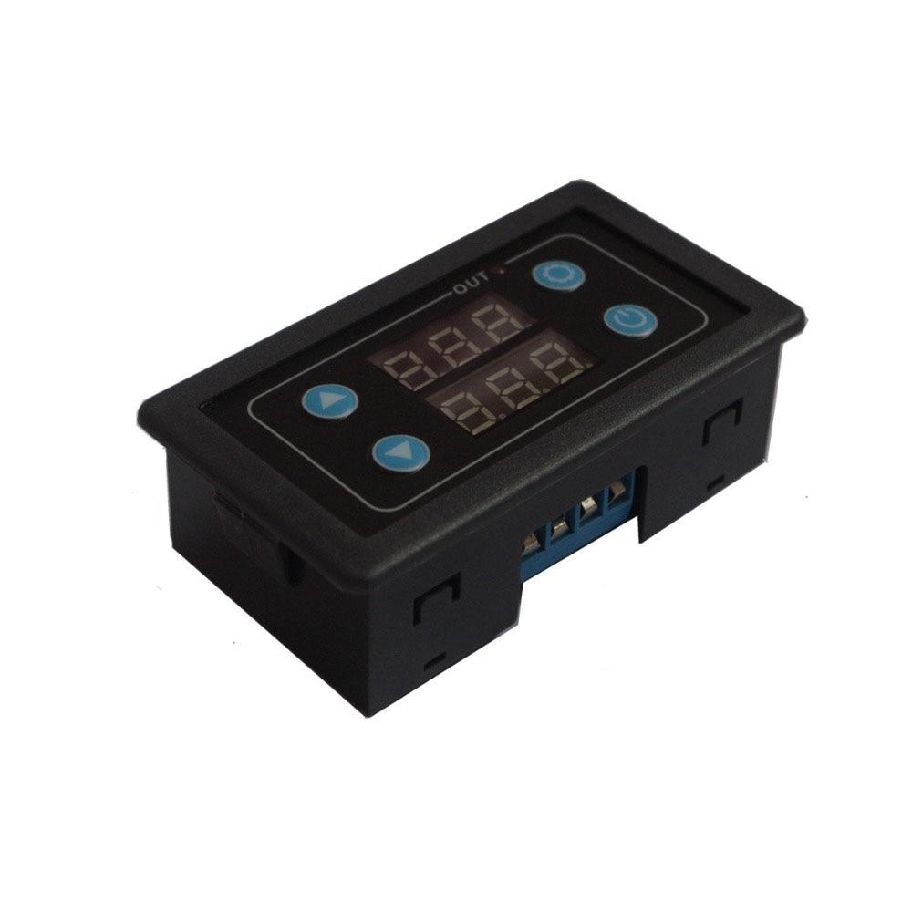 Taidacent 220V24V12V5V Relay Panel Timing Dual Screen Relay Digital Display Cycle Control Multi Function Time Delay Relay 220v