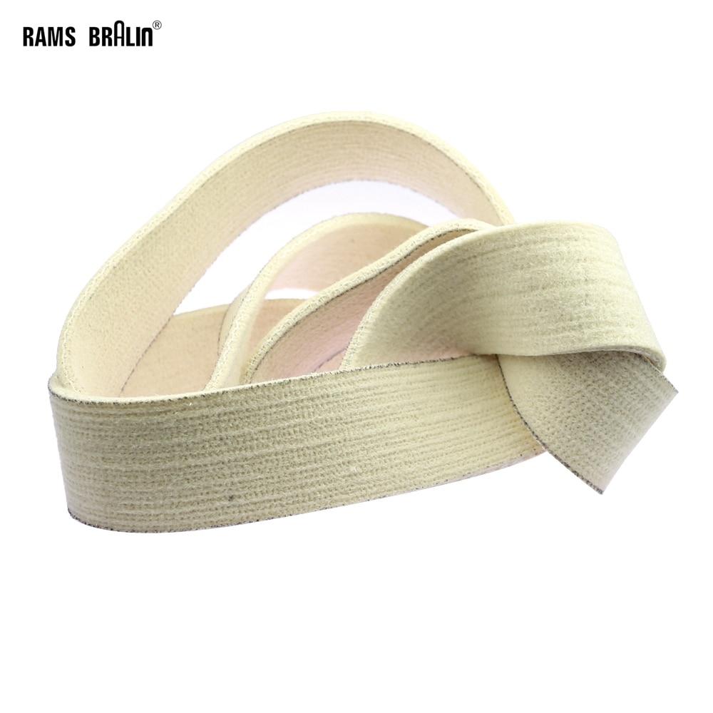 Nastro abrasivo in feltro di lana 1 pezzo 762/1220/1600/1829/2000 x - Utensili abrasivi - Fotografia 1