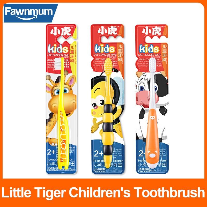 Детские зубные щетки Fawnmum, 1 шт., Детские зубные щетки, зубная щетка для дрессировки, зубная щетка для детей, детские зубы
