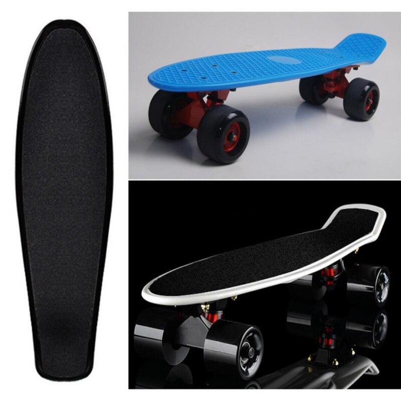 Pegatina para patineta deportiva, papel de lija de balancín sólido/impreso, antideslizante, resistente...
