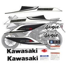 Motorcycle For Kawasaki NinjaZX6R 13 Ninja ZX 6R 2013 ZX6R Sticker Full Kit Applique High Quality Whole Vehicle Decal