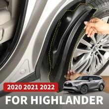 Mudguard For Toyota Highlander XU70 Refit 2022 2021 2020 Liner Mudguard Car Accessories for more com