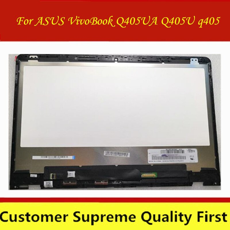 Pantalla LCD FHD N140HCE-EN1 B140HAN04.2 NV140FHM-N62 pantalla táctil ensamblaje para ASUS ZenBook serie Q405U q405