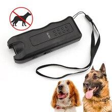 Chasseur ultrasonique Portable, arrêt dattaque danimaux, pour chiens, répulsif, guide dentraînement à ultrasons, fournitures dauto-défense
