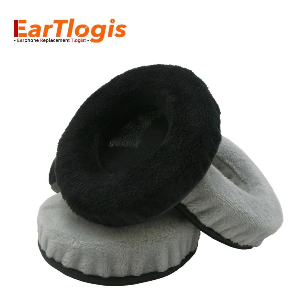 EarTlogis Velvet Replacement Ear Pads for JVC HA-S40BT HA S-40BT Headset Parts Earmuff Cover Cushion Cups pillow