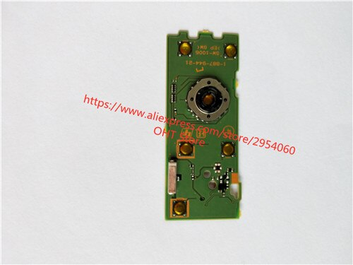 Piezas de reparación, menú, tablero operativo, botón clave Original para cámara Digital Sony DSC-HX50V HX50 HX60 HX60V