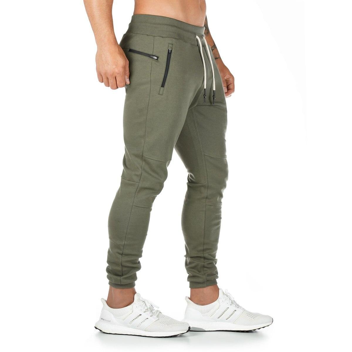 Брюки мужские повседневные, джоггеры, шаровары в стиле хип-хоп, однотонные спортивные штаны с несколькими карманами, осень