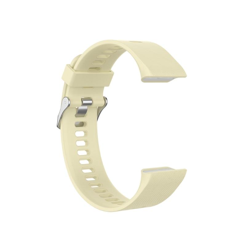 Silicone substituição pulseira de pulso para-garmin forerunner 35 esportes gps relógio 28te