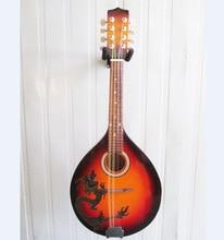 Mandoline à trou rond mandoline Manderen mandoline Guzheng Liuqin Instrument à huit cordes