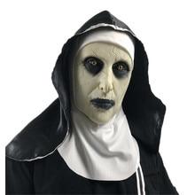 Le Conjuring 2 masque Cosplay la religieuse Valak déguisement terreur terrifié effrayant Latex masque accessoires Halloween carnaval fête hommes femmes