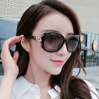 2021 fox head fashion large rectangle sunglasses for women european and american trendy classic sun glasses accessories vintage