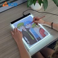 led drawing board 3 level dimmable led drawing copy pad board childrens toy painting educational creative gifts for children