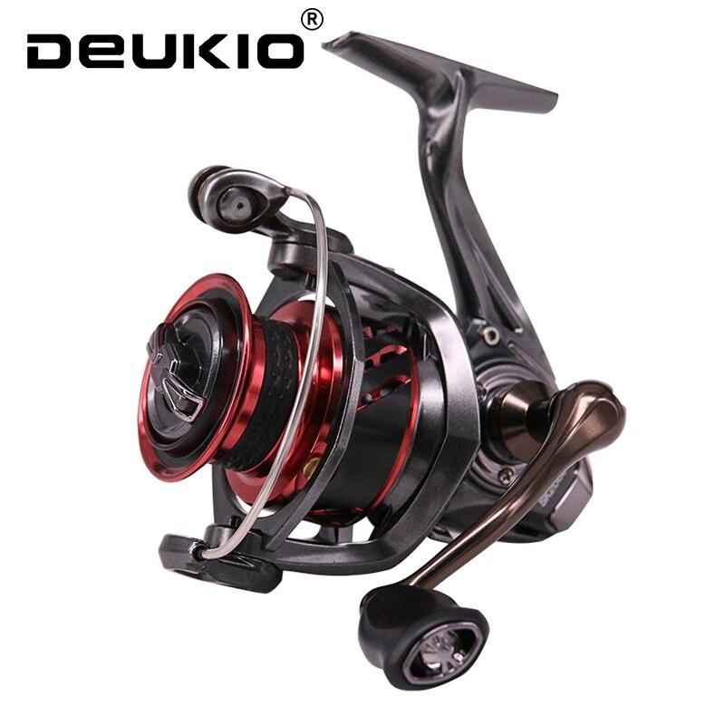 Deukio 2020 nova qualidade superior carretel de pesca SK2000-6000 série para pesca em água salgada molinete 6 + 1bb sus rolamentos carretel