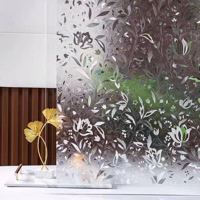 Антистатическая самоклеящаяся 3d-пленка для оконных стекол, пленка для защиты от ультрафиолета и тепла, наклейки на стекло