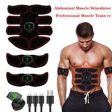 Stymulator mięśni brzucha Hip trener Abs EMS prasa elektryczna trening Fitness sprzęt maszyna domowa siłownia odchudzanie wyszczuplanie ciała
