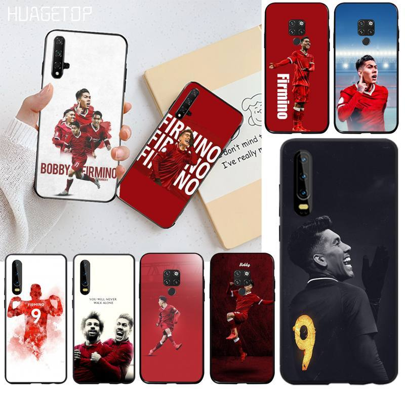 HUAGETOP fútbol Liverpool Firmino funda de teléfono de lujo para Huawei P40 P30 P20 lite Pro Mate 30 20 Pro P inteligente 2019