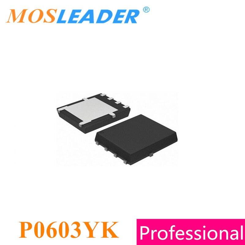 موسليدر 100 قطعة P0603YK DFN5X6 QFN8 السائبة الأصلية الجديدة مجددة عالية الجودة الصينية موفسيتس