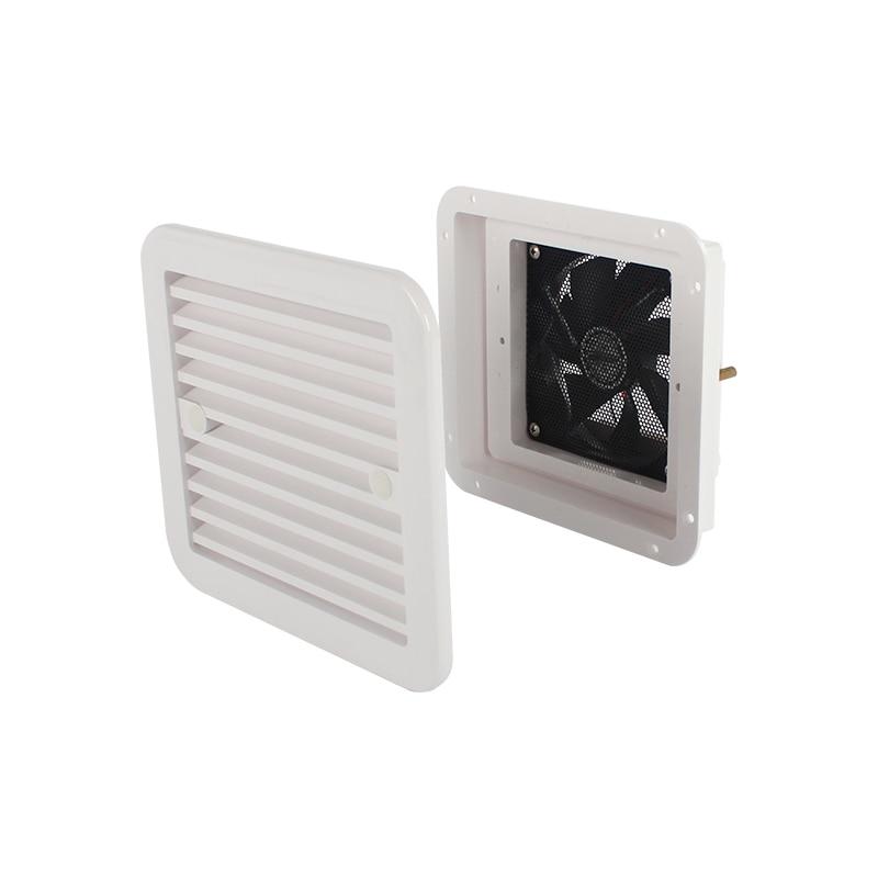 12 В 4 Вт вентиляционное отверстие холодильника с вентилятором для RV Прицепа автофургона боковой воздух сильный ветер выхлоп автомобильные ...