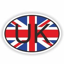 No Fading Sunscreen Waterproof  Creative UK UNITED KINGDOM Flag Car Sticker PVC Decal Accessories 14