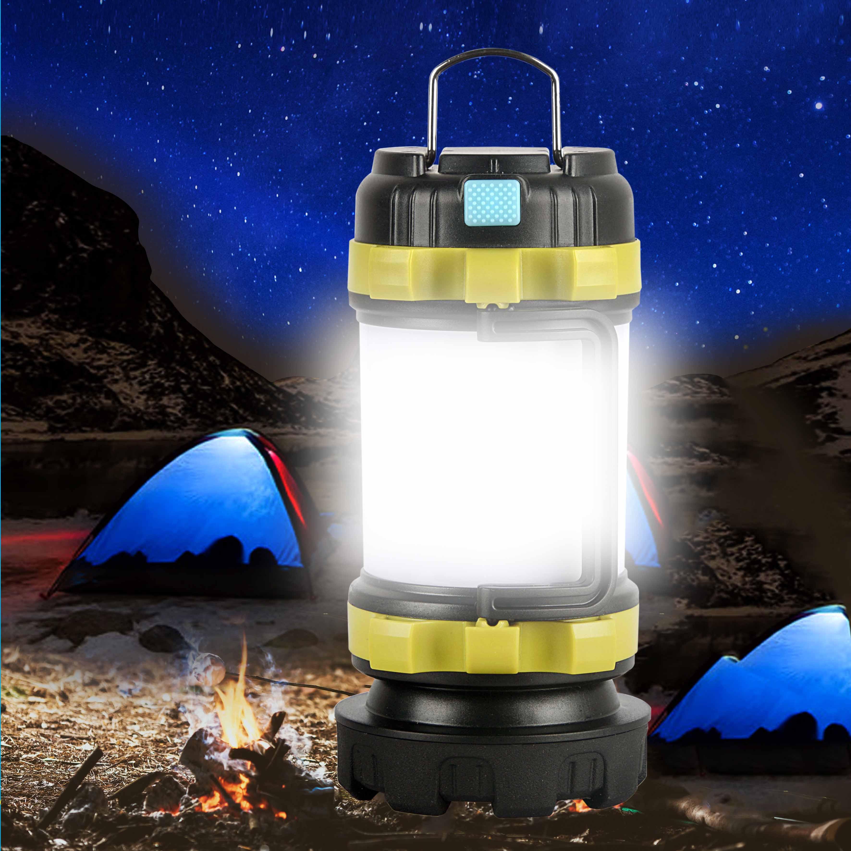 Outdoor Lamp Led Camping Licht Usb Oplaadbare Zaklamp Dimbare Spotlight Werk Licht Waterdicht Zoeklicht Nood Om