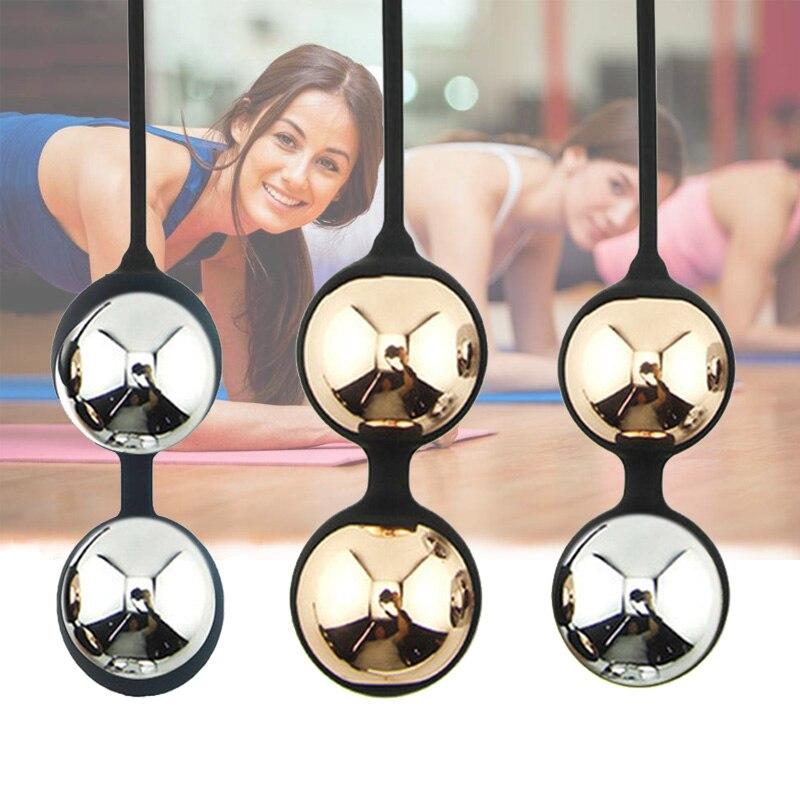 Китайские шарики Кегеля, массажные шарики Кегеля для укрепления мышц влагалища, шарики Кегеля для упражнений Кегеля, шарики Бен-ва, встроен...
