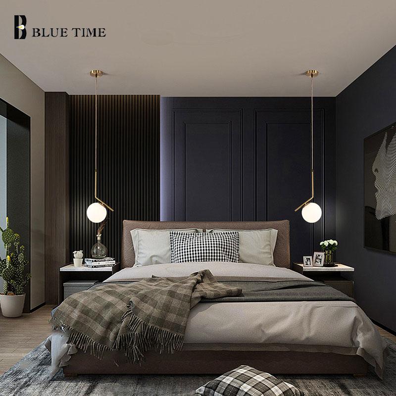 Modern Pendant Light Indoor Decoration LED Pendant Lamp Home For Living Room Bedroom Bedside Dining Room Hanging Lamp 110v 220v