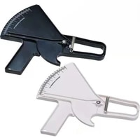 body fat caliper tester personal training body fat clips fat skinfold thickness measuring caliper