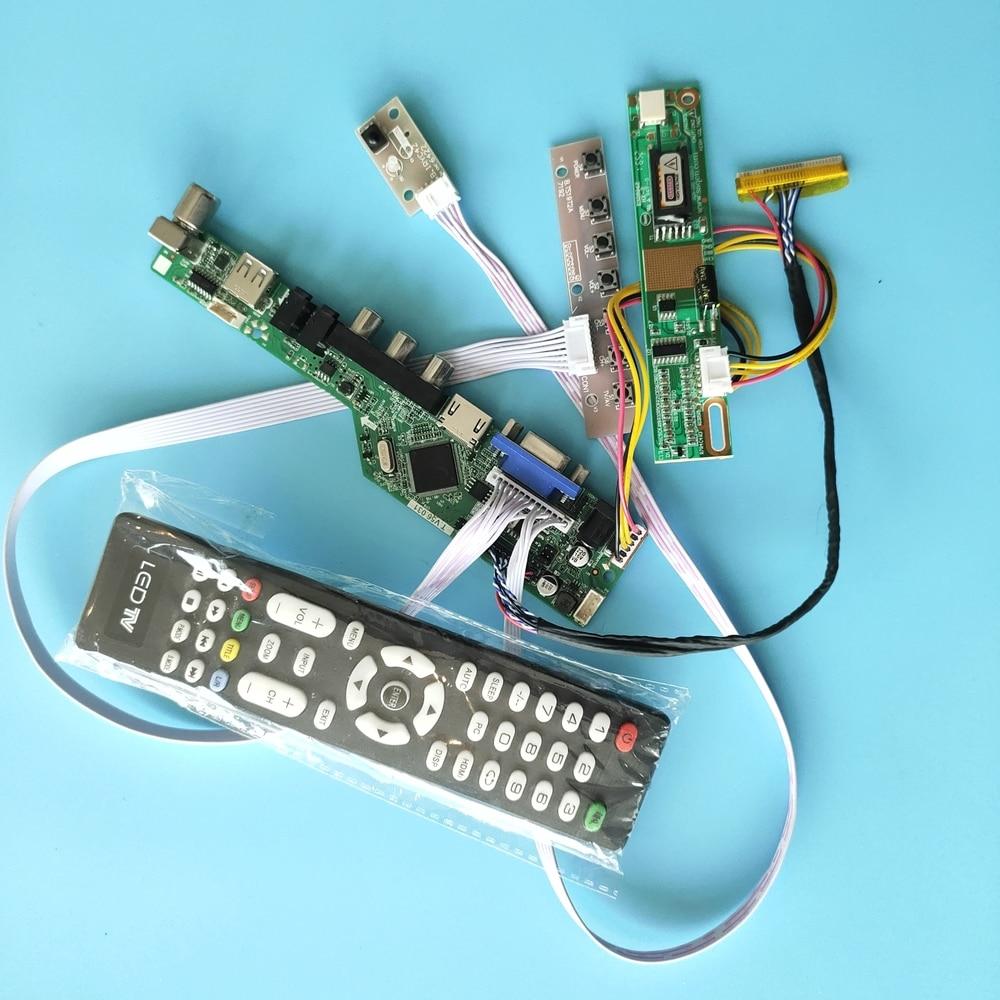 "for LTN150XG-L02 VGA AV TV Driver Board Digital Signal Controller 1 lamps 15"" USB Module HDMI New 30pin 1024X768"