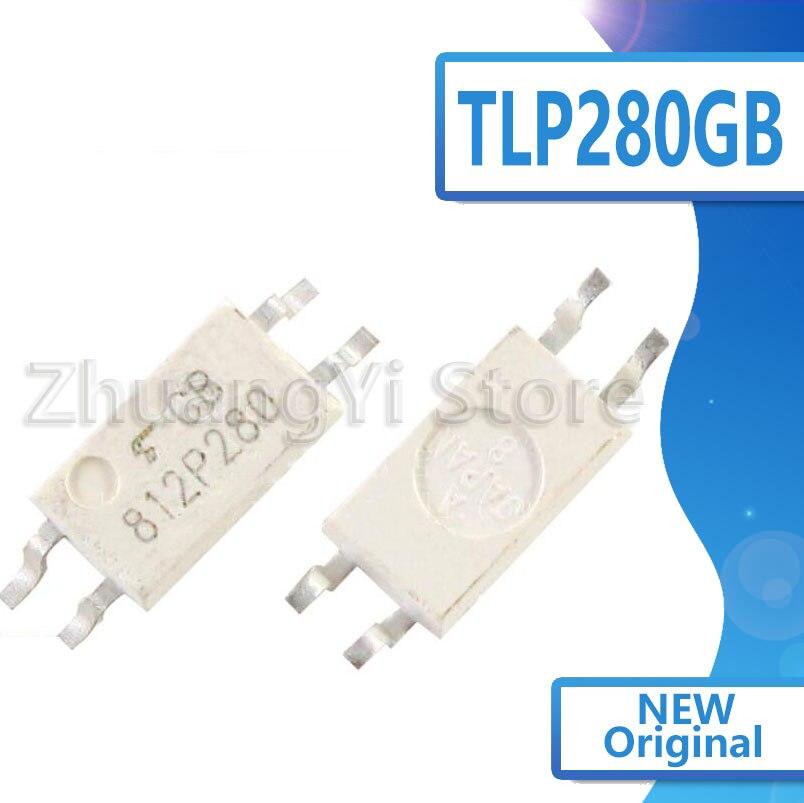 10 Uds TLP280GB TLP280 P280 TLP280 P281 TLP281-1-1 gb original parche 4 pies