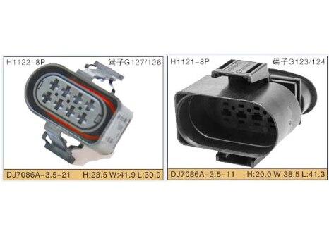 8 Pin 6185-1177 6188-0736 Automóvel Conector Masculino Feminino Plugue Farol