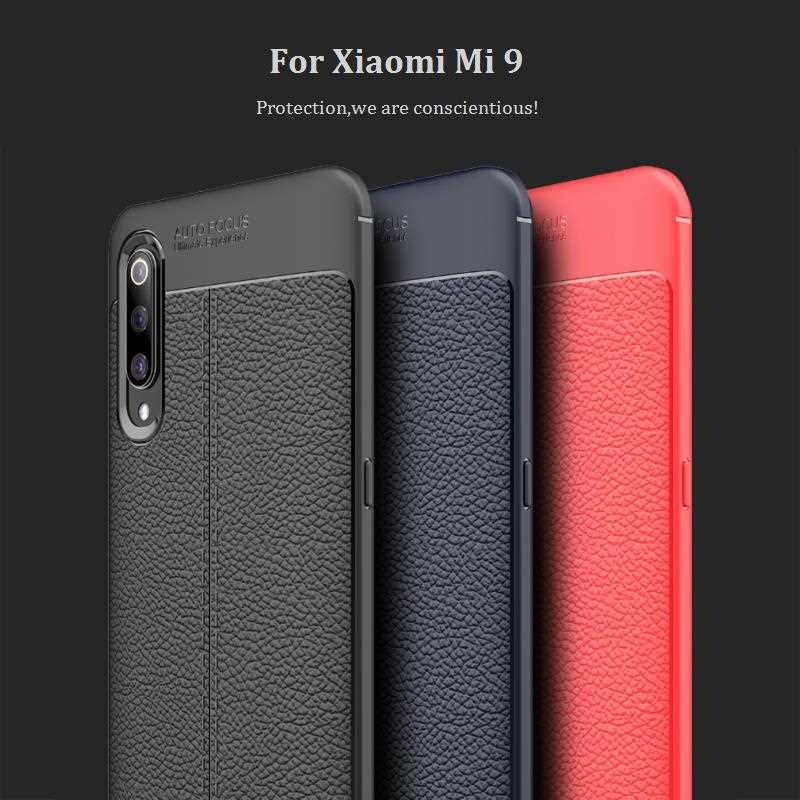 Funda suave Mokoemi Lichee para Xiaomi Mi 9 SE, funda para Xiaomi Mi 9 Pro, a prueba de golpes
