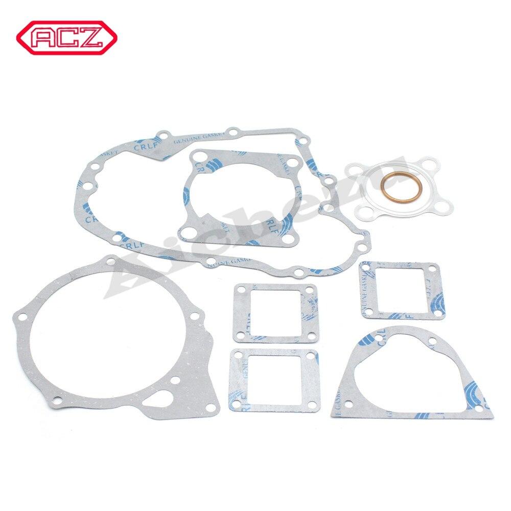 Motorcycle Complete Seal Gasket Cylinder Gaket For Yamaha 2 Stroke 125cc DT 125 DT125 Engine Gakset