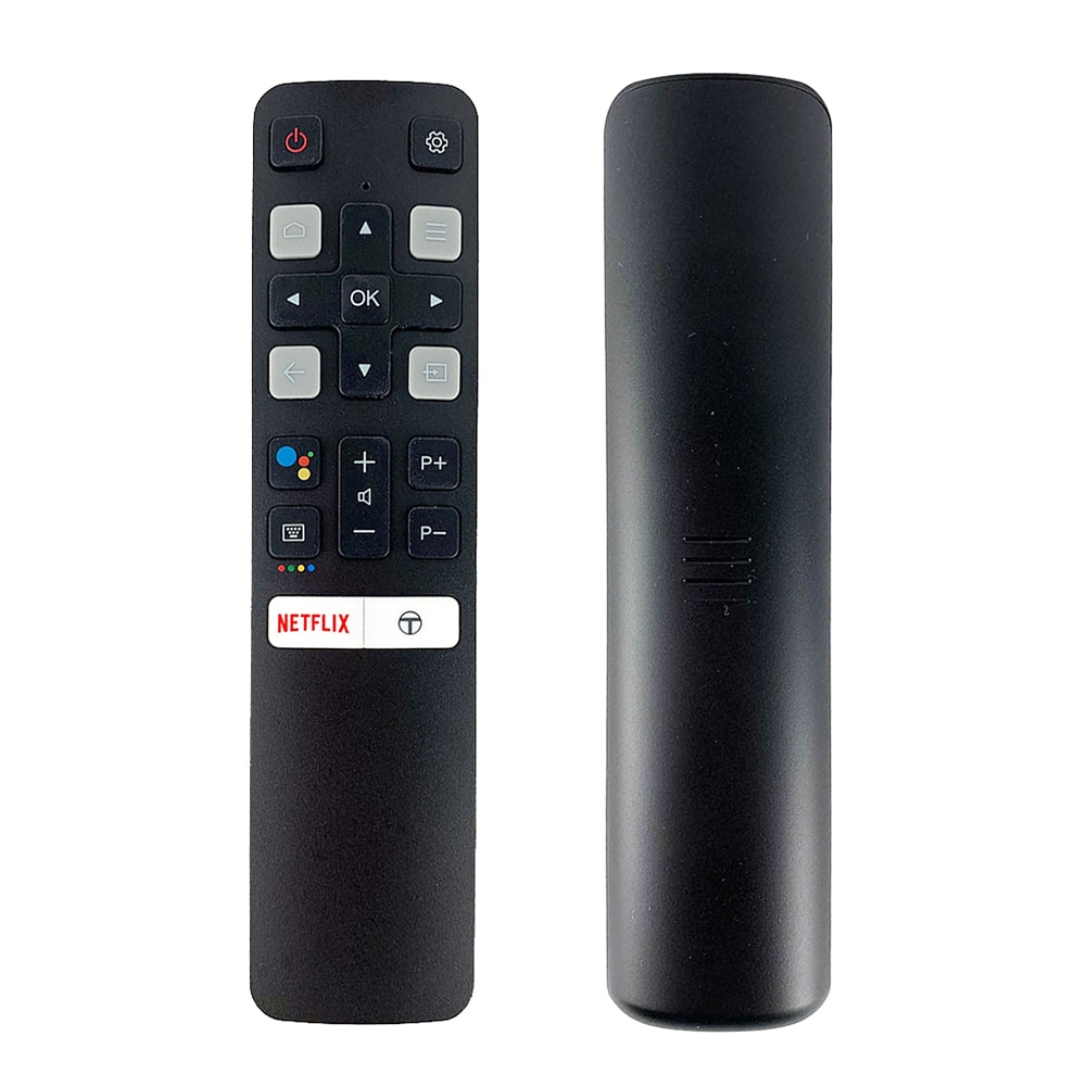 Original rc802v fur6 google assistente de voz controle remoto para tcl tv 40s6800 49s6500 55ep680 substituir rc802v fmr1 65p8s 55p8s