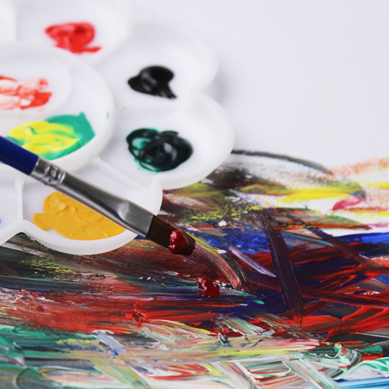Oil Colors Paints Fine Painting Art Supplies 12 Colours 6 ML Tube Offer 2 Brush And 1 Palette  For Free enlarge