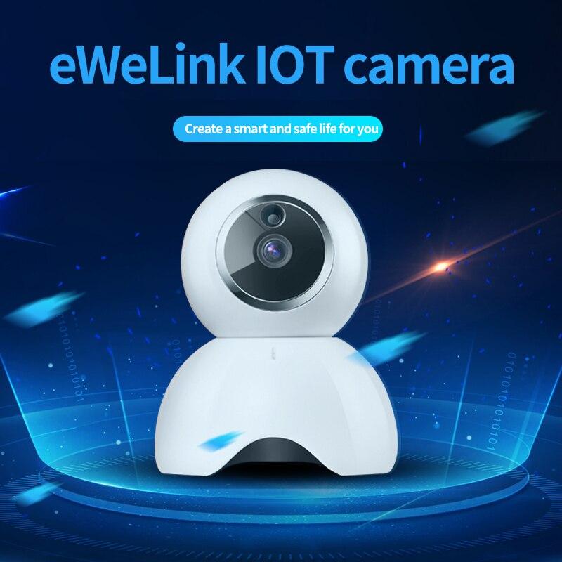 EWeLink APP كاميرا ذكية IOT HD كاميرا عرض Reomotely 720P مليون بكسل كاميرا ذكية جهاز تحكم عن بعد للهاتف المحمول