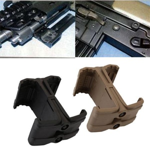 TOtrait Tactical ABS Military Tactical Rifle Gun M4 Magazine Parallel Connector Double Magazine Coupler Clip Holder Accessories