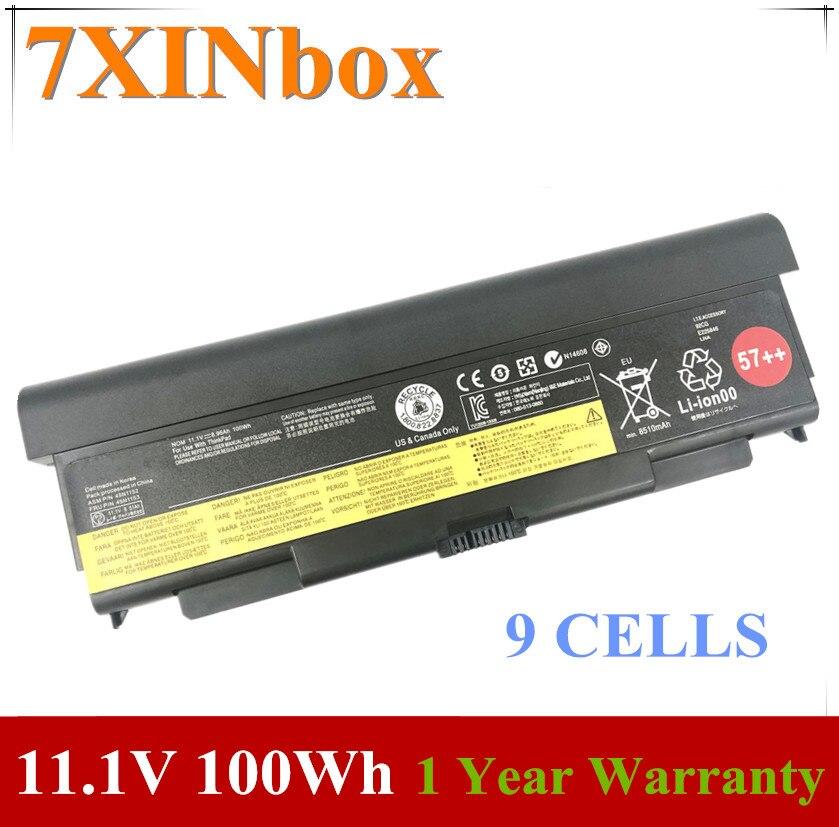 7XINbox 11,1 V 100Wh 8960mAh 45N1148 45N1149 45N1152 Оригинальный аккумулятор для ноутбука Lenovo ThinkPad T440P T540P L440 L540 W540 W541