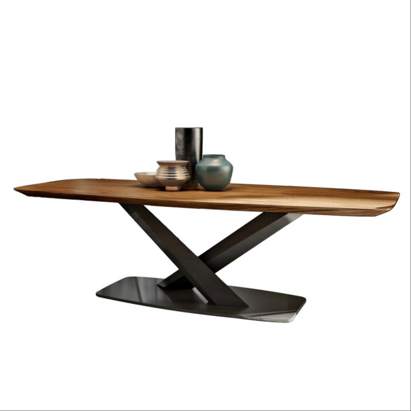 طاولة وكرسي مزيج طاولة أثاث مستطيلة الحديثة الحد الأدنى طاولة المنزل
