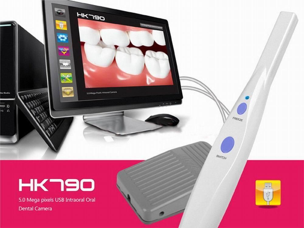 JYTOP جديد 5.0 MP USB داخل الفم والأسنان كاميرا HK790 + دواسة ، FCC ، CE