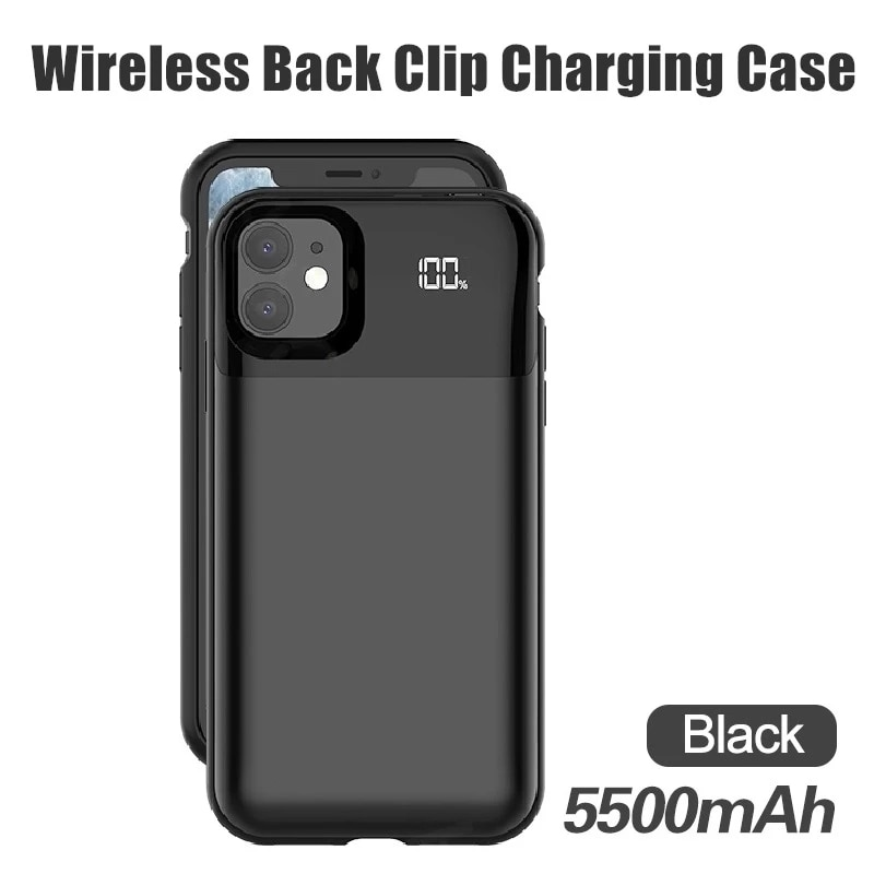 10000mAh Battery Charger Case For iPhone 11 12 Pro Max for iPhone 5S 5 SE 5C 6 6S 7 8 Plus X XR XS MAX Power Bank Charging Case