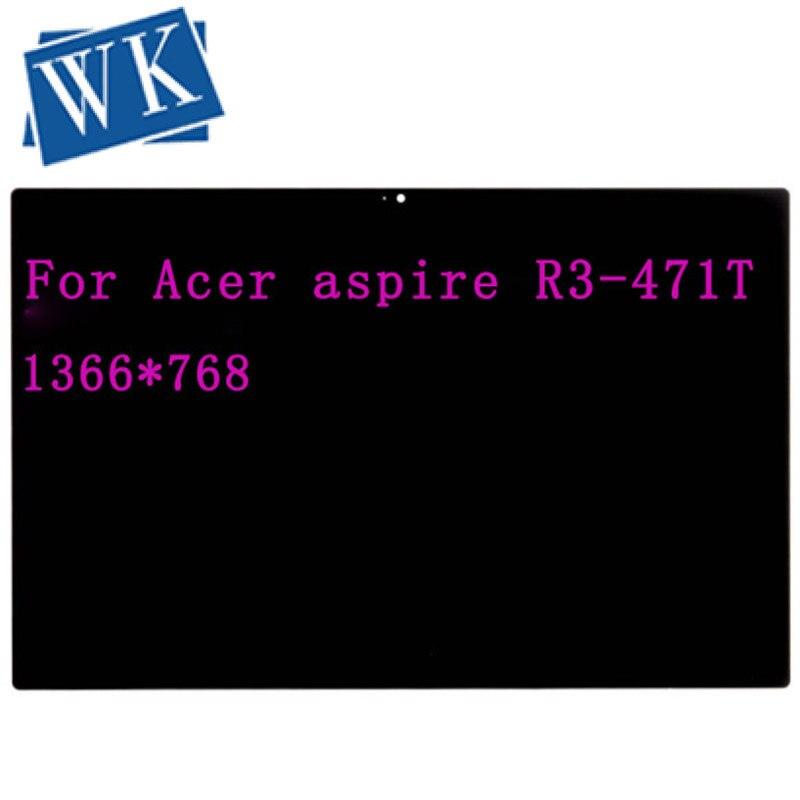 """Envío Gratis Original 14 """"Pantalla táctil LCD para Acer Aspire R14 R3-471 R3-471T LED táctil de digitalizador pantalla LCD de la Asamblea"""