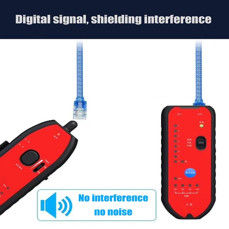 Hot Sale RJ11 RJ45 Cat5 Cat6 Telephone Wire Tracker Tracer Toner Ethernet LAN Network Cable Tester Detector Line Finder enlarge