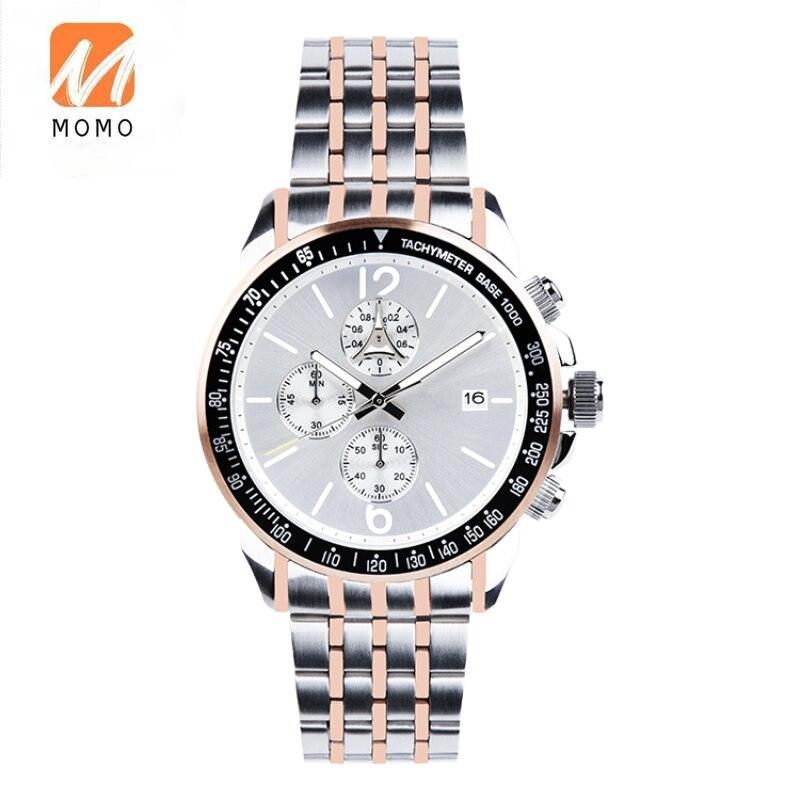 Мужские часы из нержавеющей стали с логотипом на заказ