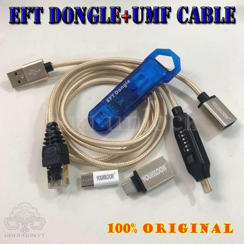 2020 nuevo 100% Original fácil FIRMWARE TEMA / EFT DONGLE + UMF todo el Cable de arranque (todo en un Cable de arranque) Envío Gratis