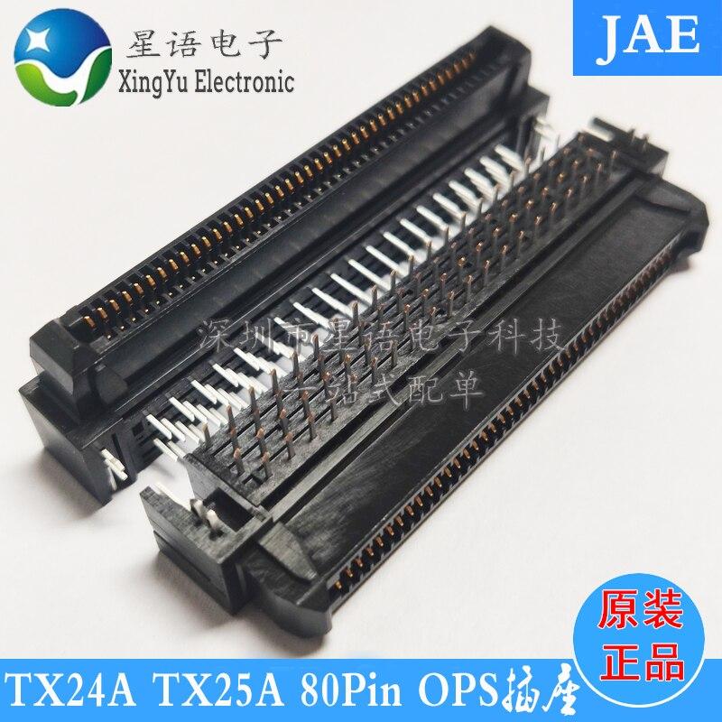 جاي موصل TX24A-80R-LT-H1E TX25A-80P-LT-H1E 80P عالية التردد أوبس أنثى