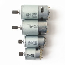 RS570/550/380/390 Kinderen Elektrische Auto Speelgoed Auto Motor 6V 12V Motor Motor Versnellingsbak accessoires Hoge Kwaliteit